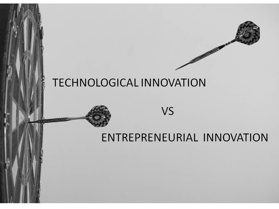 Innovation vs Entrepreneurship