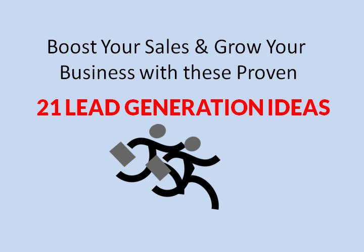21 Lead Generation Ideas