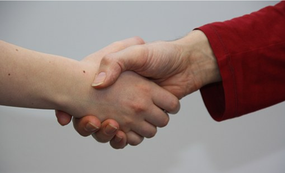 Networking - People Shaking Hands